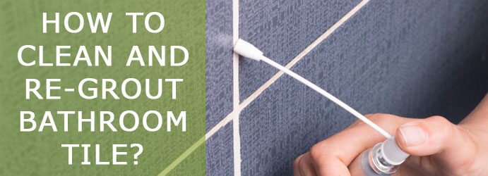 Re-Grout Bathroom Tile Cleaning Melbourne