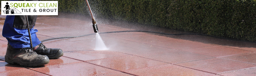 Water High Pressure Tile & Grout Cleaning